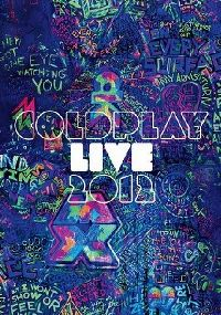 Cover Coldplay - Live 2012 [DVD]